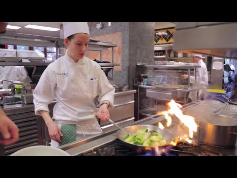 Becoming chefs at the Culinary Institute of America
