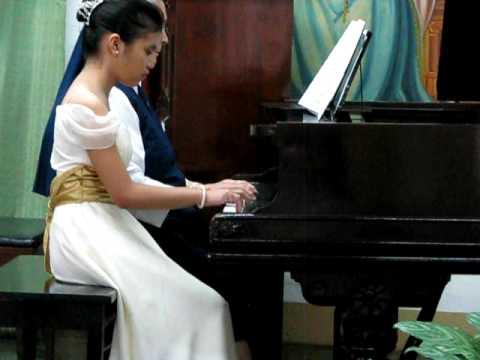 Hungarian Dance No 5 (Piano Duet) -- by Patricia J...