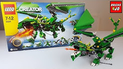 LEGO 4894 Creator Drachen (+ Unboxing) - Review deutsch -