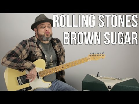 "Rolling Stones ""Brown Sugar"" Guitar Lesson"