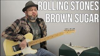 "Rolling Stones ""Brown Sugar"" Guitar Lesson"