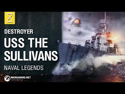 USS The Sullivans Destroyer