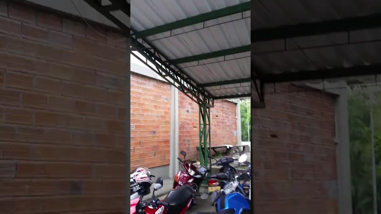 Estructura Metalica Para Parqueadero Techo Voladizo