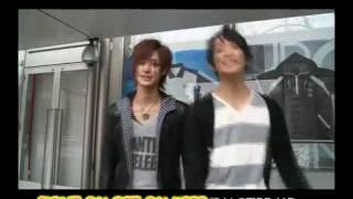 Video com cenas divertidas com o pessoal de Tenimyu. Cantando FGKS,...