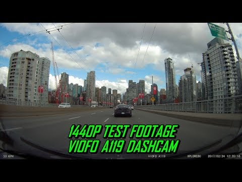 1440P Test Footage VIOFO A119 Dash Cam