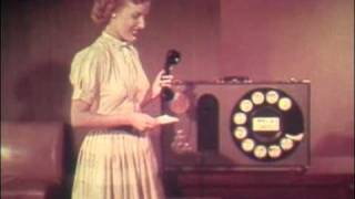1954 How to dial your phone by Bell System