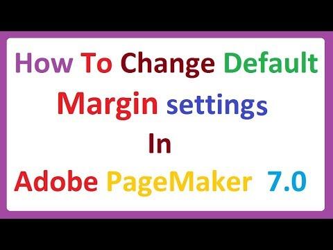 Margins tutorialIn Adobe Pagemaker