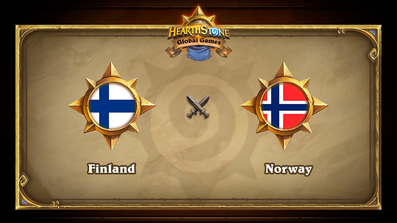 Finland vs Norway, Hearthstone Global Games Group Stage