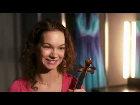 Hilary Hahn interview & playing Sibelius Concerto (with NZSO)