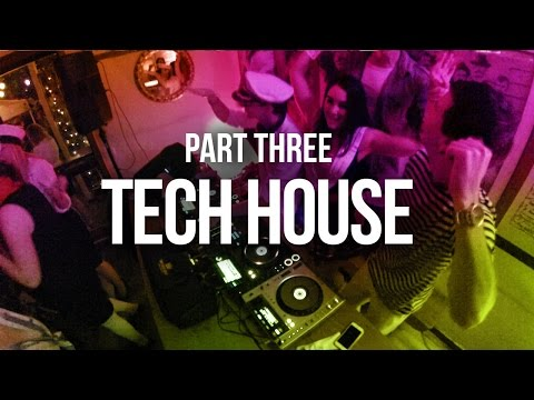 House Party IX Part 3 - Tech House - Boiler Room Style Live Stream 2015