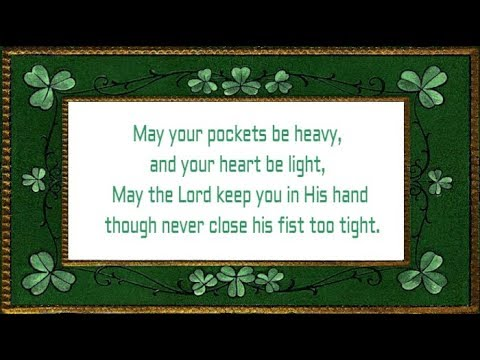 Irish Blessings Are Not Only Religious But Also Funny Sometimes Have A Look At This Birthday Wishes