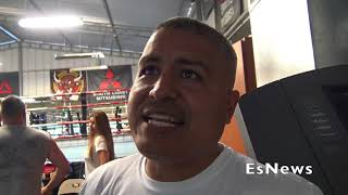 "Robert Garcia On Gervonta ""Tank"" Davis Vs Ryan Garcia Sparring EsNews Boxing"