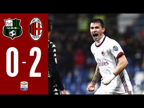 Highlights : Sassuolo 0-2 AC Milan I Serie A - 2017/18