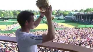 Wimbledon: Andy Murray's Wimbledon trophy tour