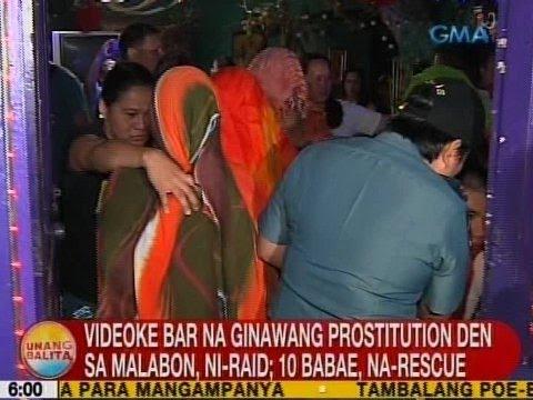 UB: Videoke bar na ginawang prostitution den sa Malabon, ni raid