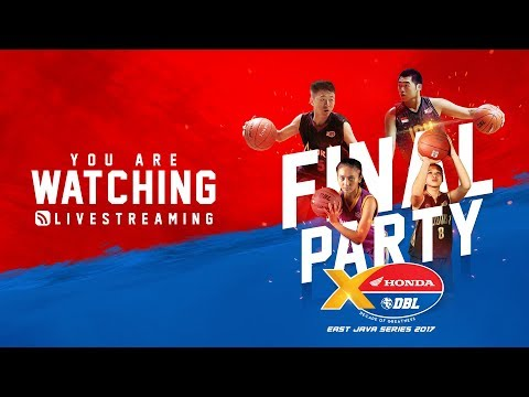 Final Party Honda DBL East Java Series 2017