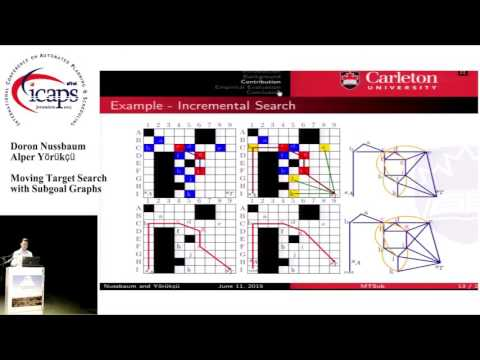 """ICAPS 2015: """"Moving Target Search with Subgoal Graphs"""""""