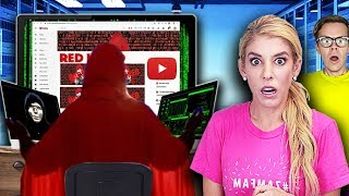 The Red Hood Quadrant Hacker is a Youtuber! (Game Master Network Face Reveal)