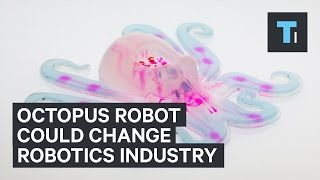 This soft octopus robot could change the robotics industry
