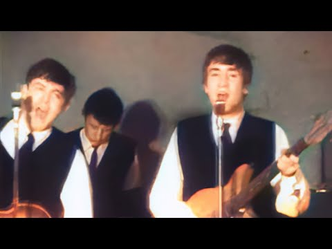 The Beatles Live at The Cavern 1962 - AI Colorized and Upscaled