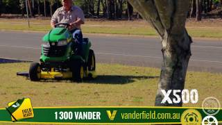Video John Deere X500 Series at Vanderfield download MP3, 3GP, MP4, WEBM, AVI, FLV Juli 2018
