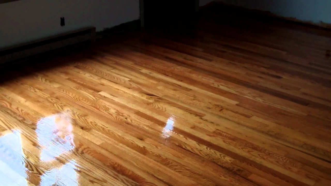 Old Red Oak Floors Finished With Synteko Excel Crystal Lake