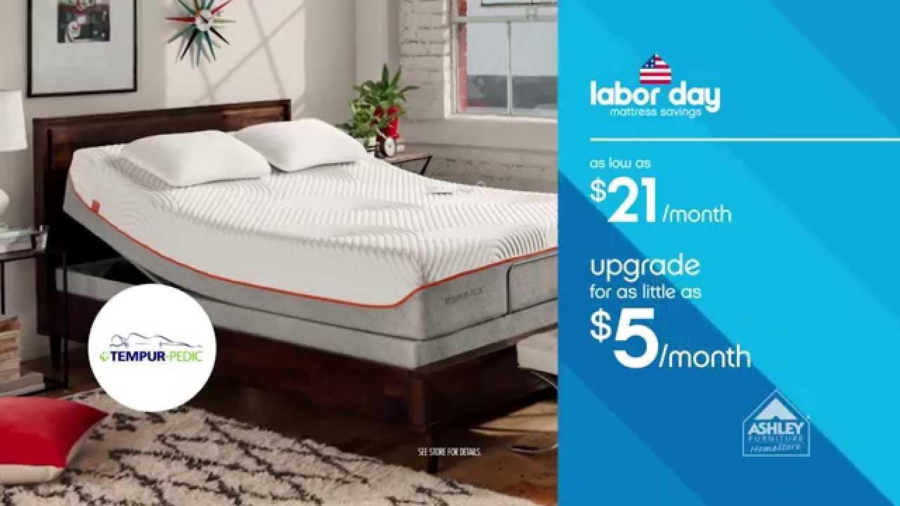 Ashley Furniture Home Labor Day Mattress Savings