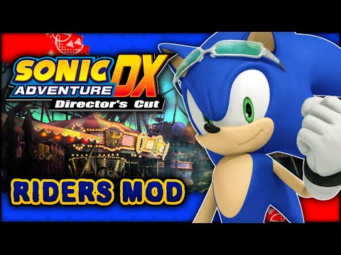 Sonic Adventure DX - Twinkle Park W/ Sonic Riders And Board Mod