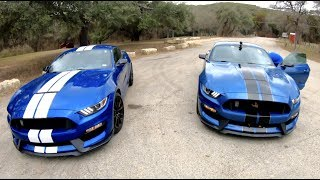 2019 Shelby GT350 Chasing 2017 Shelby GT350 Ford Mustang