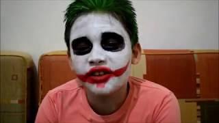 Fazendo maquiagem do Coringa / Makeup Joker