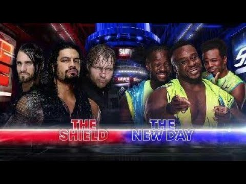 Shield vs New Day full match WWE survivor series 2017 HD