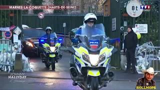 """JOHNNY HALLYDAY HOMMAGE DU 9 DÉCEMBRE 2017 TF1 1ere PARTIE """"ROLLMOPS"""""""