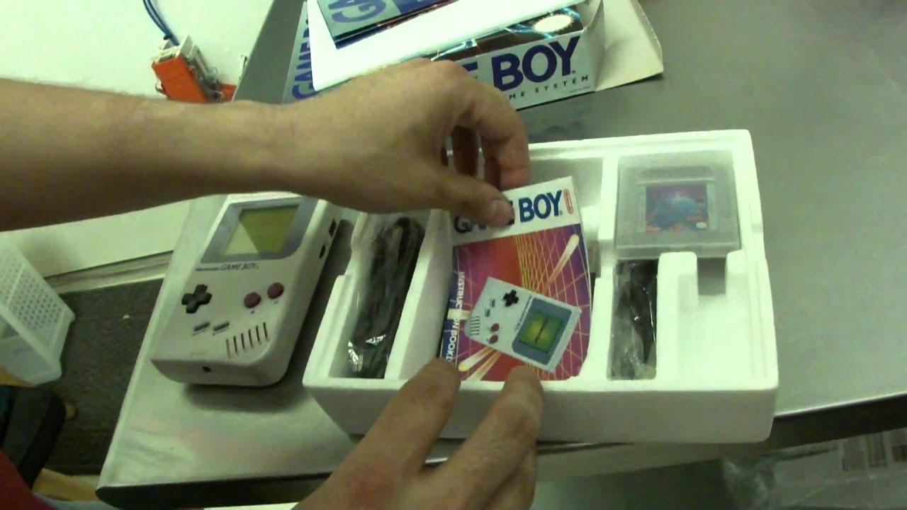 Game boy color quanto custa - Nintendo Original Game Boy 1989 Unboxing