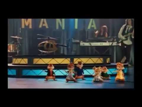 Alvin e os esquilos cantando Mulher Maravilha Zé Neto e Cristiano