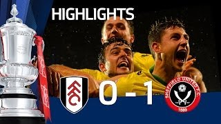 Video Gol Pertandingan Fulham vs Sheffield United
