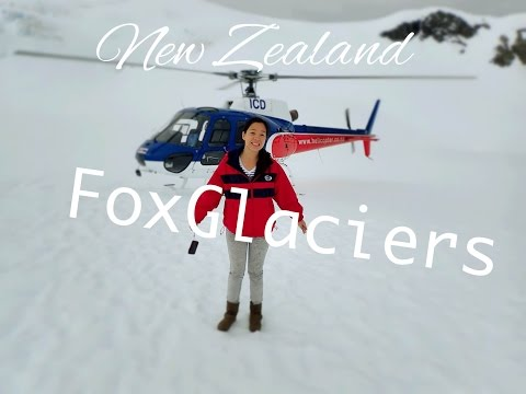 Fly on High in Fox Glaciers South Island New Zealand!..