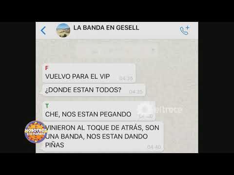 El Chat Del Grupo De Fernando Momentos Antes De Que Fuera Asesinado
