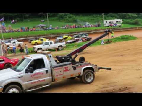 stock 4 race mountain view speedway 7-8-2017