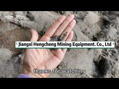Lumpy Tin ore process plant Production Line, tin mining equipment
