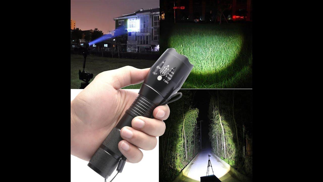 G700 X800 Ultrafire 5000lm Zoom Cree Xml T6 Led Flashlight Youtube Lampu Senter Kecil 9 Sj0020