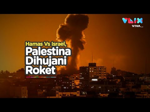 Negara Arab Gandeng Israel, Langit Palestina Dihujani Roket