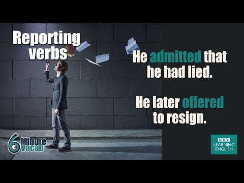 Download Youtube: VOCABULARY: How to use reporting verbs like insist, demand and advise