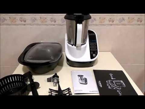 Klarstein 39 clean pro duo 39 set completo robot de cocina for Robot de cocina multifuncion