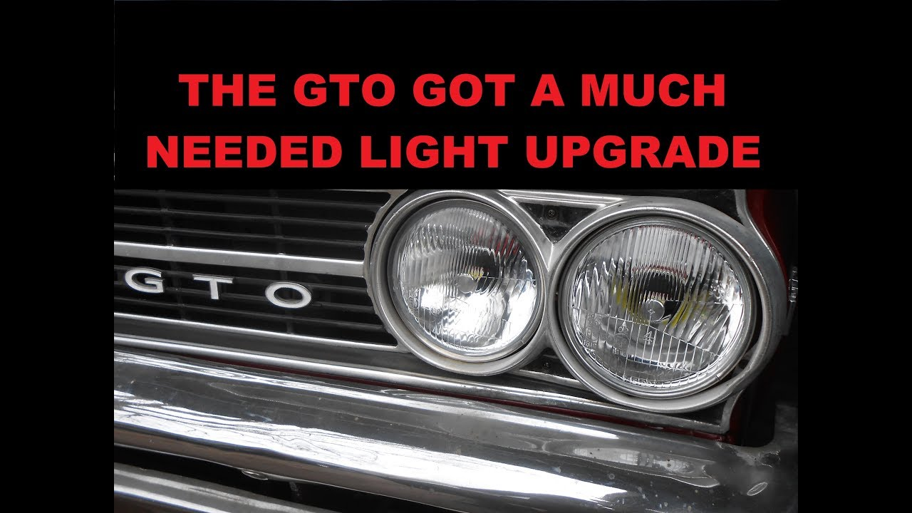 we try octane lighting 5 3/4 led headlights in the 64 GTO Octane Headlight Wiring Diagram on