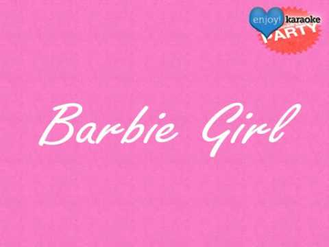 "Me singing ""Barbie Girl"" on Enjoy! Karaoke"