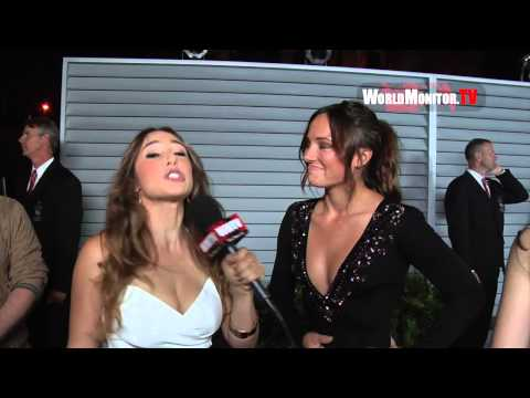 Briana Evigan ed by Danielle Robay at 2014 Maxim Hot 100 party Redcarpet