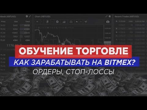 BITMEX | Типы ордеров | Как использовать Stop-loss | Как зарабатывать на бирже Bitmex. 18+