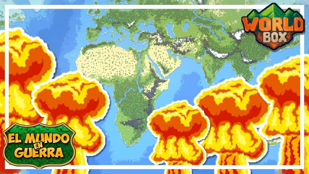 ACCIDENTE NUCLEAR - EL MUNDO EN GUERRA Ep 3 - WORLD BOX  Gameplay Español
