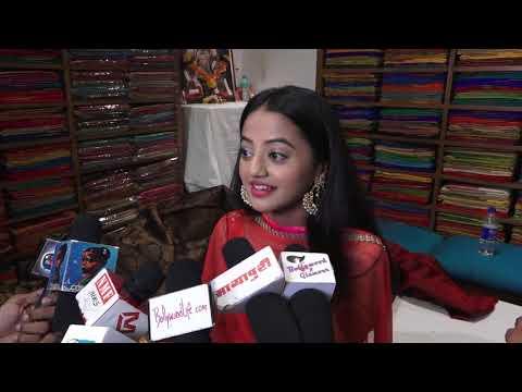 Helly Shah At Store Launch Of Sundari Silks