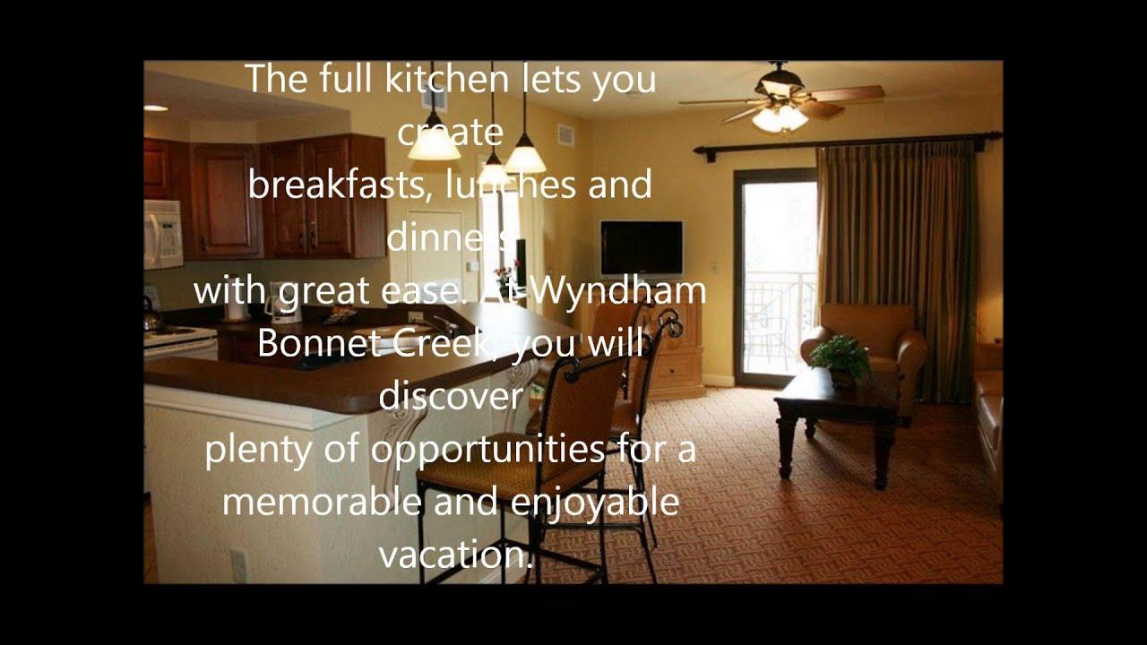 Two Bedroom Suite Wyndham Bonnet Creek Orlando Spring Break